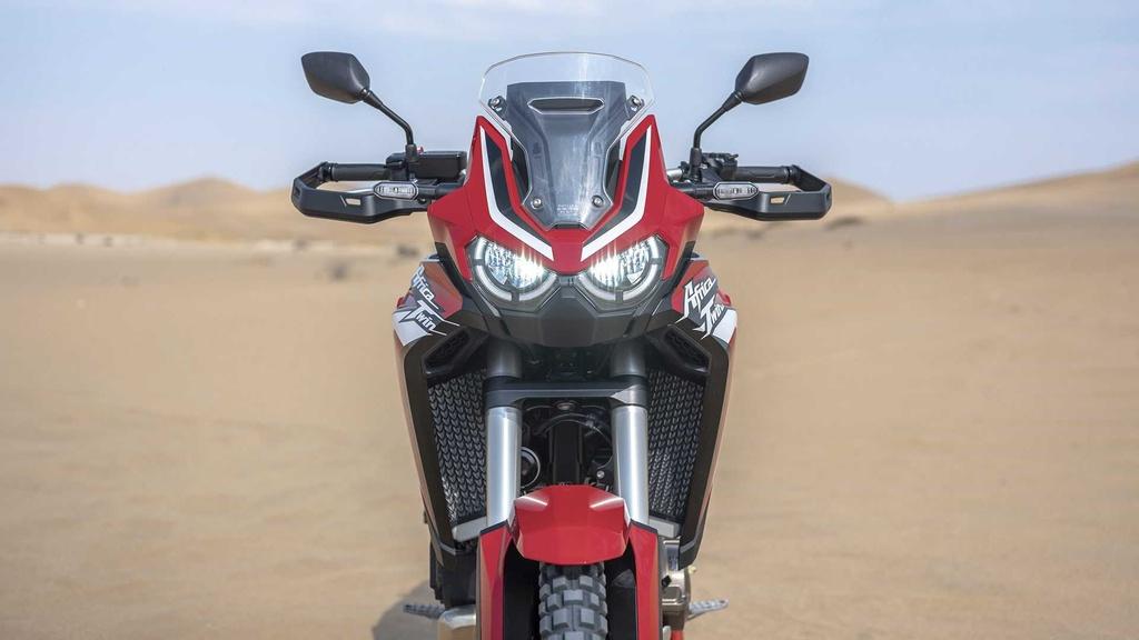 Moto phuot hang nang Honda CRF1100L Africa Twin 2020 ra mat hinh anh 6