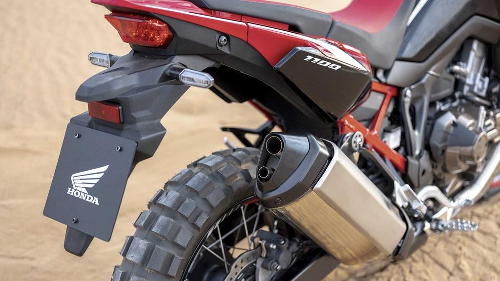 Moto phuot hang nang Honda CRF1100L Africa Twin 2020 ra mat hinh anh 8