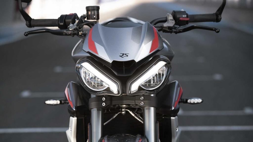 Triumph Street Triple RS 2020 ra mat, du dan hon, dong co Moto2 hinh anh 2