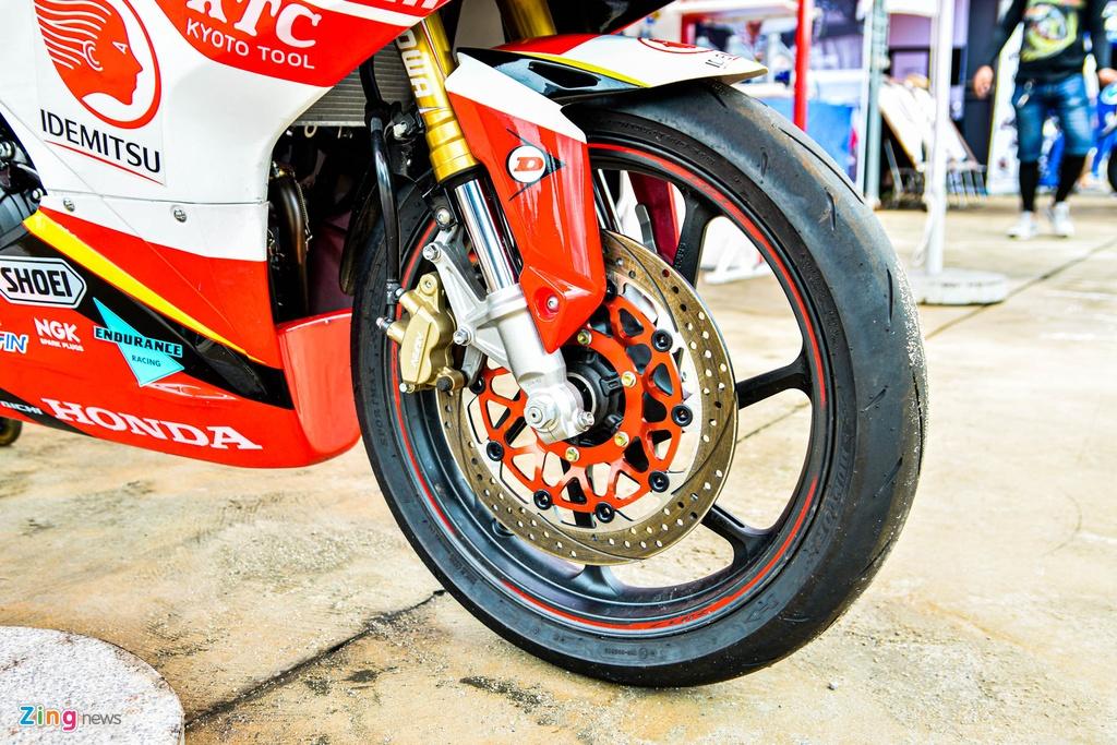 Honda CBR250RR su dung trong giai dua moto chau A ARRC co gi dac biet? hinh anh 2