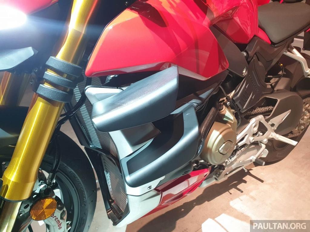 Chi tiet Ducati Streetfighter V4 2020, trang bi canh gio nhu xe MotoGP hinh anh 4