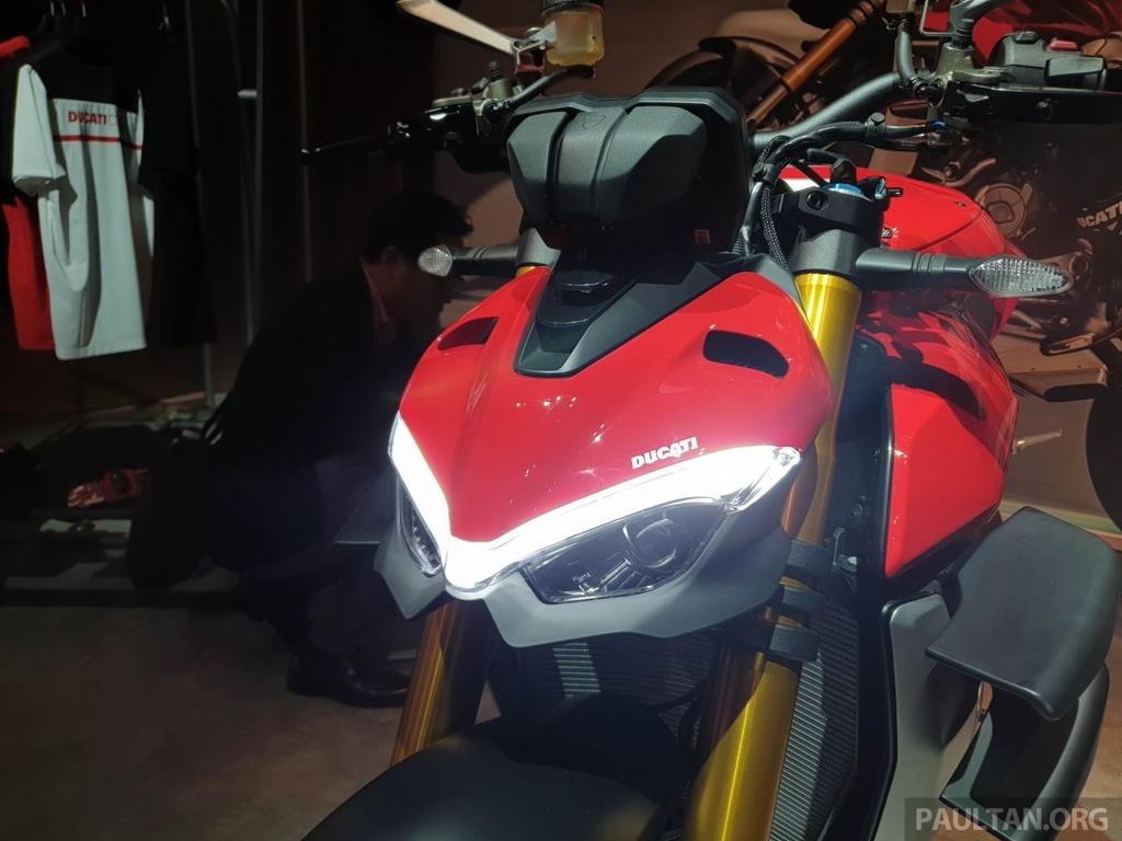 Chi tiet Ducati Streetfighter V4 2020, trang bi canh gio nhu xe MotoGP hinh anh 3