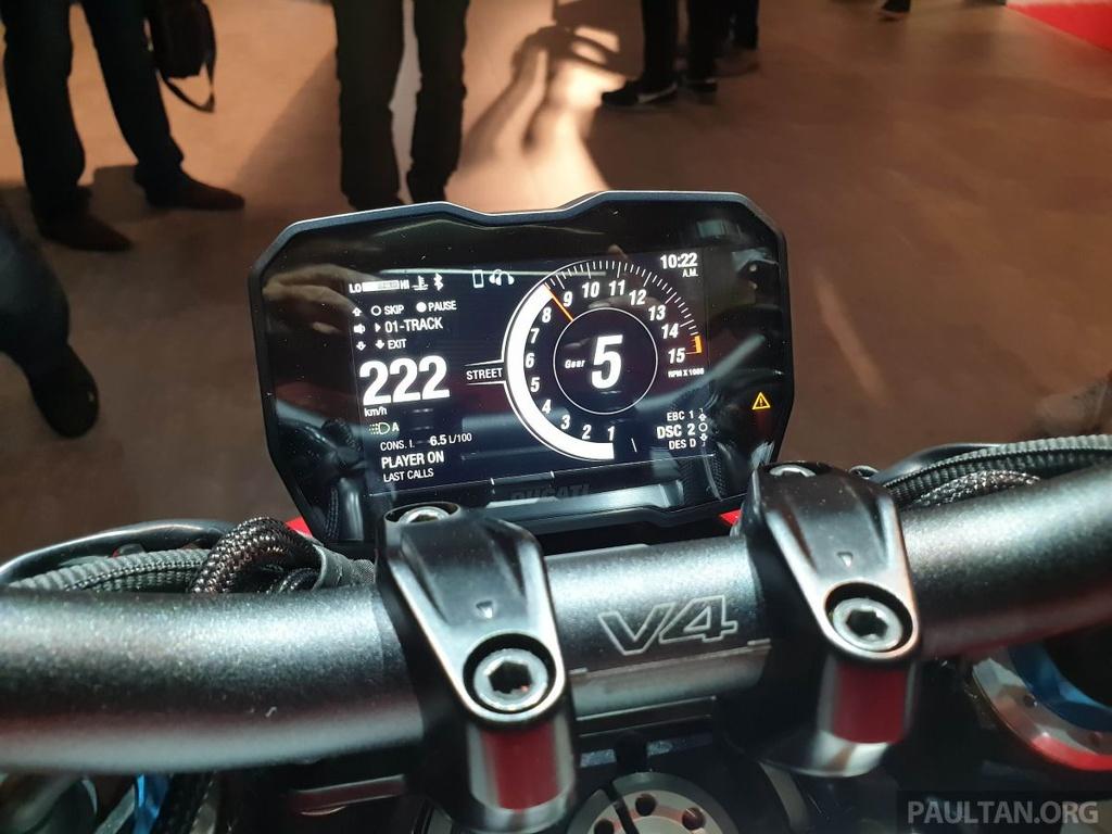 Chi tiet Ducati Streetfighter V4 2020, trang bi canh gio nhu xe MotoGP hinh anh 5
