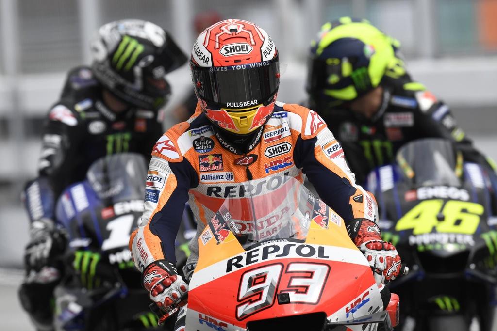 MotoGP chang 18 - Maverick Vinales danh bai Marc Marquez hinh anh 1