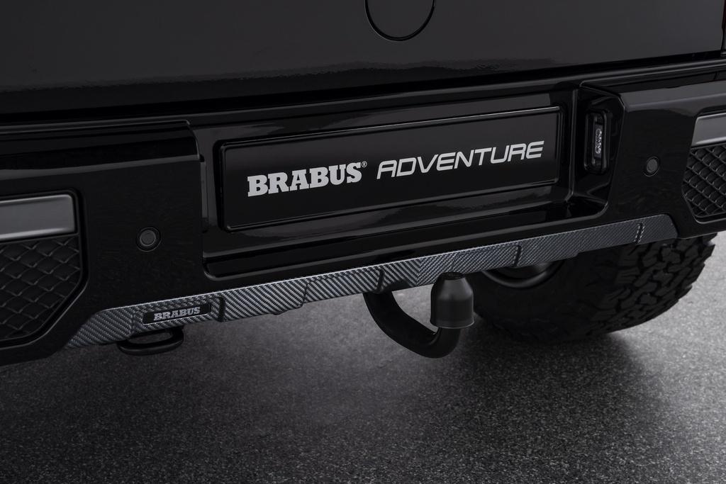 Mercedes G-Class voi goi do off-road Brabus Adventure hinh anh 5