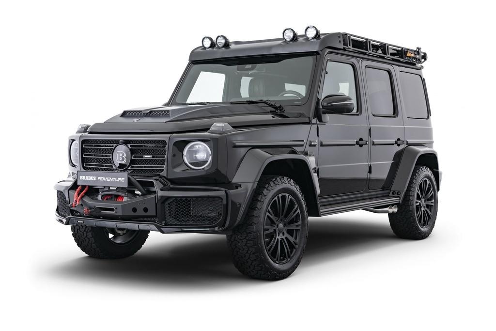 Mercedes G-Class voi goi do off-road Brabus Adventure hinh anh 1