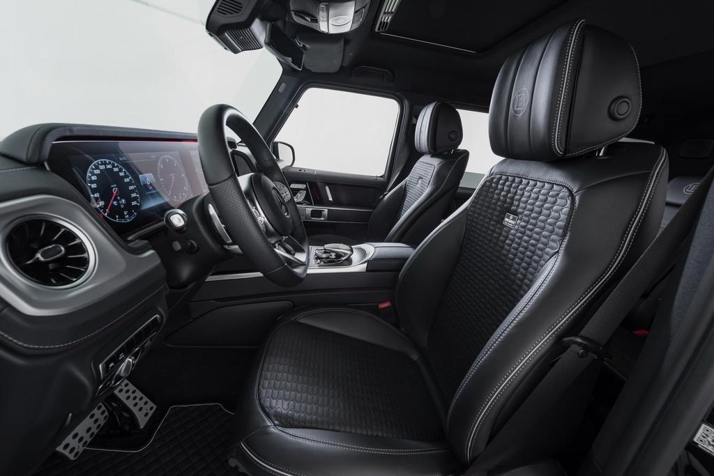 Mercedes G-Class voi goi do off-road Brabus Adventure hinh anh 7