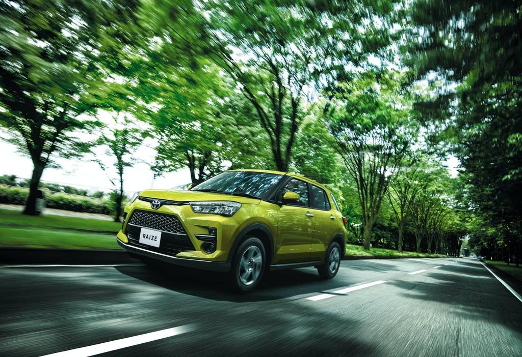 Toyota Raize 2020 ra mat - dong co 1.0L, gia tu 14.500 USD hinh anh 1