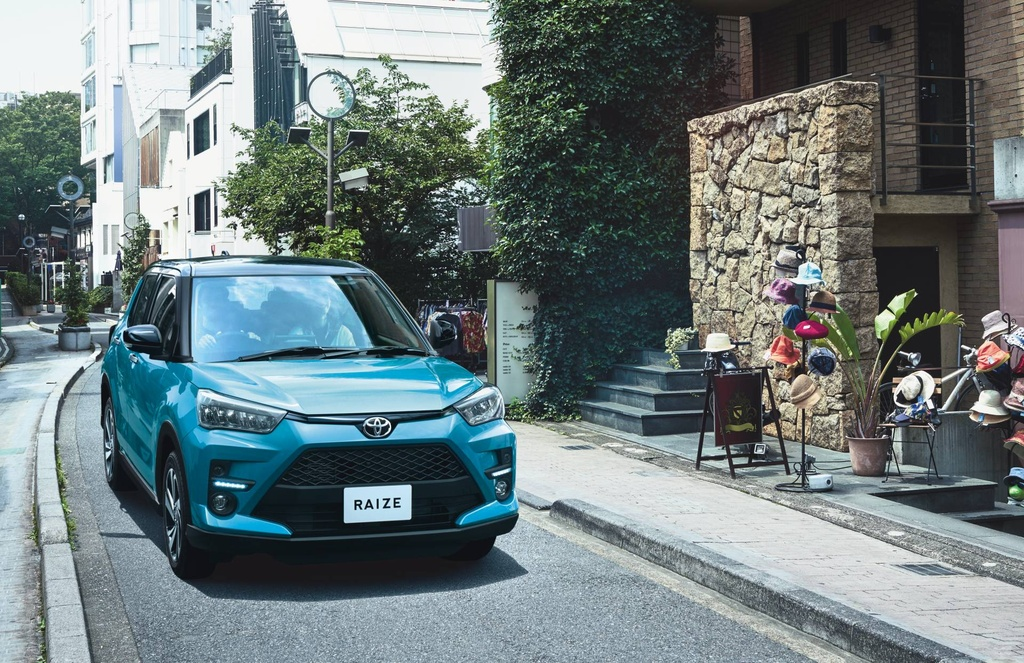 Toyota Raize 2020 ra mat - dong co 1.0L, gia tu 14.500 USD hinh anh 12