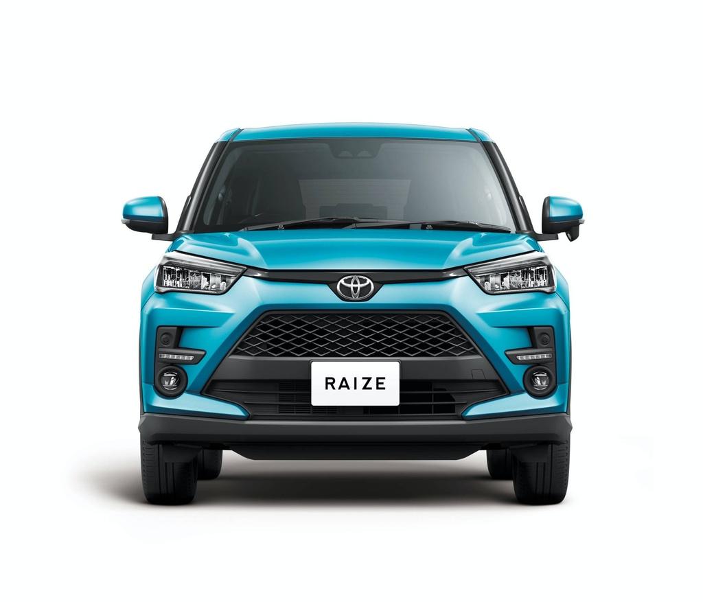 Toyota Raize 2020 ra mat - dong co 1.0L, gia tu 14.500 USD hinh anh 3