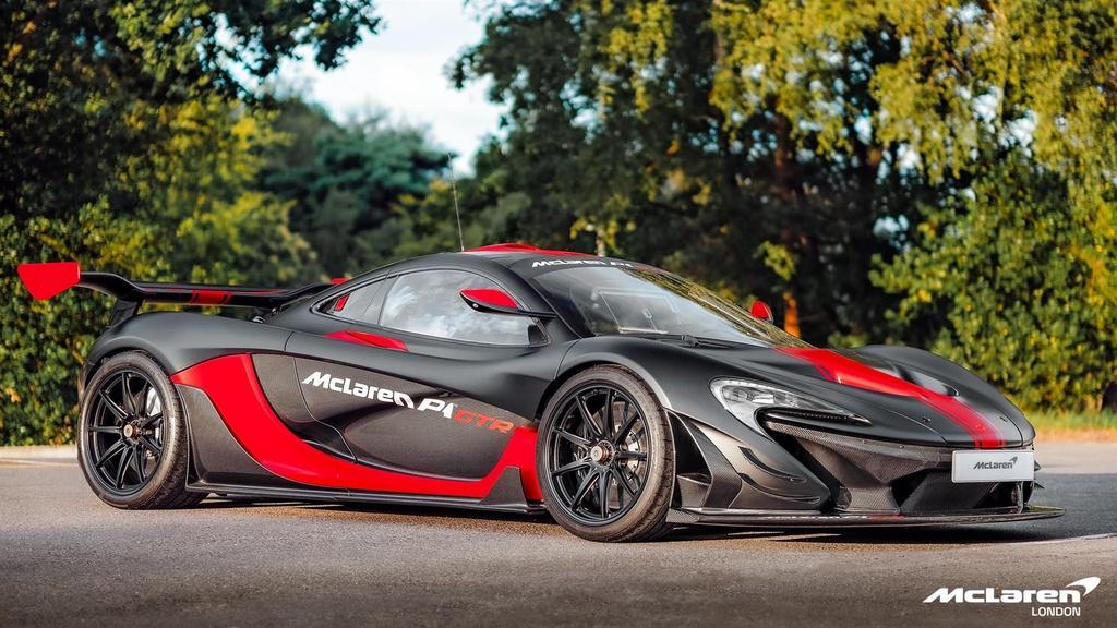 McLaren P1 GTR chay pho duy nhat the gioi co gia gan 4 trieu USD hinh anh 1