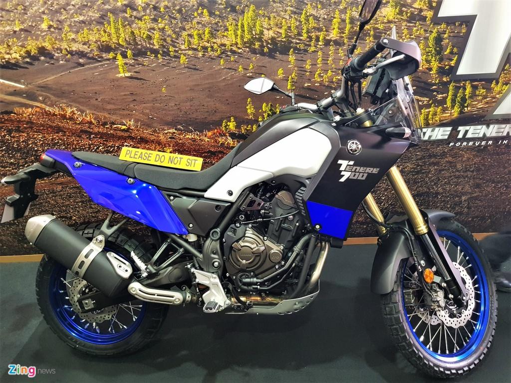 Chi tiet Yamaha Tenere 700 - moto phuot tam trung voi kieu dang la mat hinh anh 1