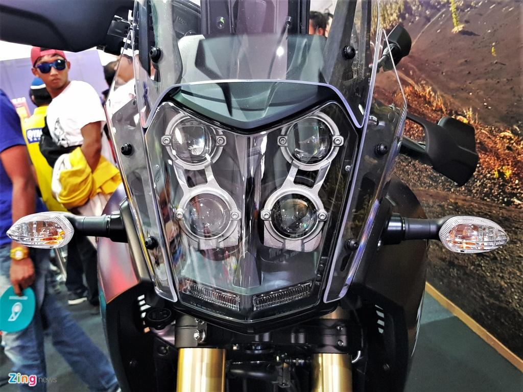 Chi tiet Yamaha Tenere 700 - moto phuot tam trung voi kieu dang la mat hinh anh 2