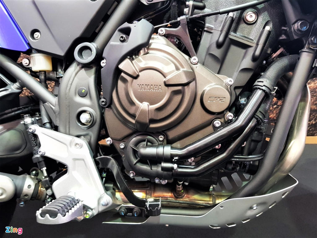 Chi tiet Yamaha Tenere 700 - moto phuot tam trung voi kieu dang la mat hinh anh 6