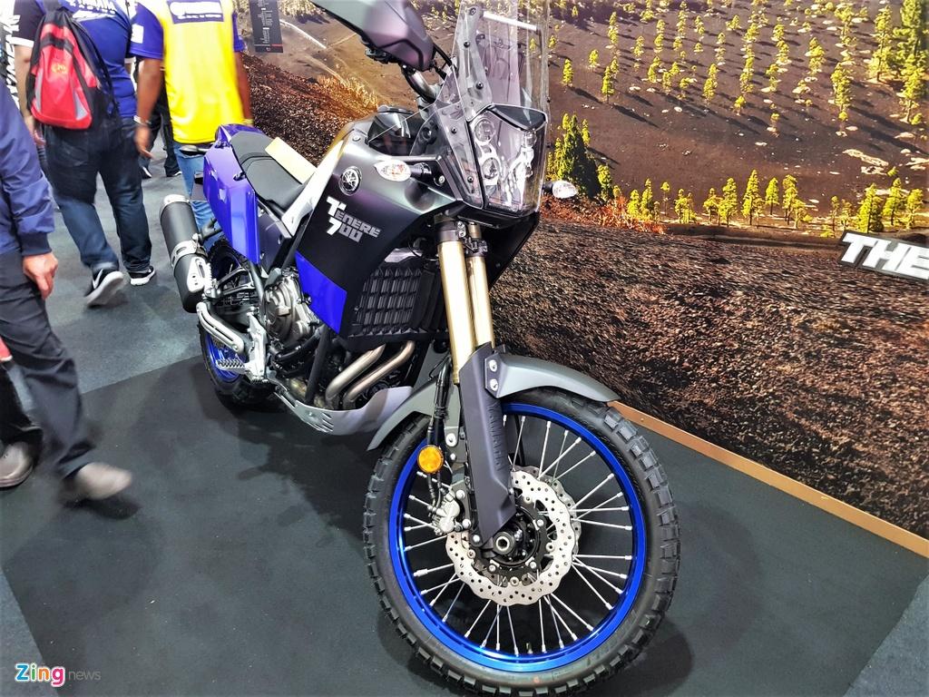 Chi tiet Yamaha Tenere 700 - moto phuot tam trung voi kieu dang la mat hinh anh 8