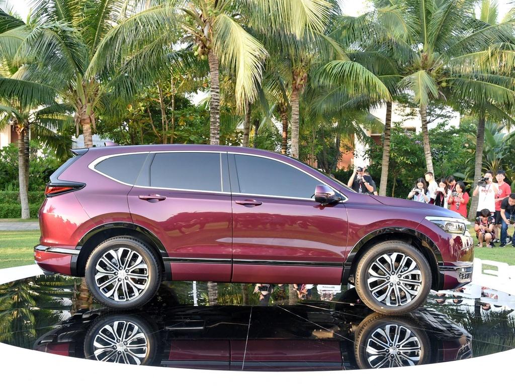 Ra mat Honda Breeze 2020, crossover danh rieng cho Trung Quoc hinh anh 2