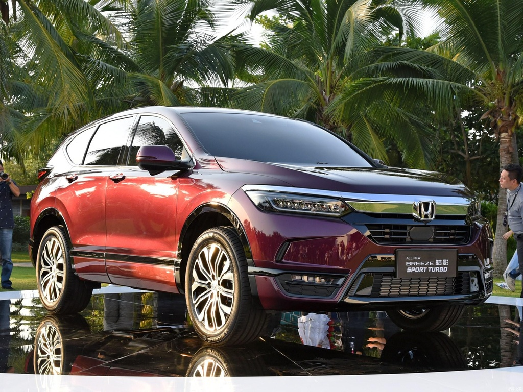 Ra mat Honda Breeze 2020, crossover danh rieng cho Trung Quoc hinh anh 3