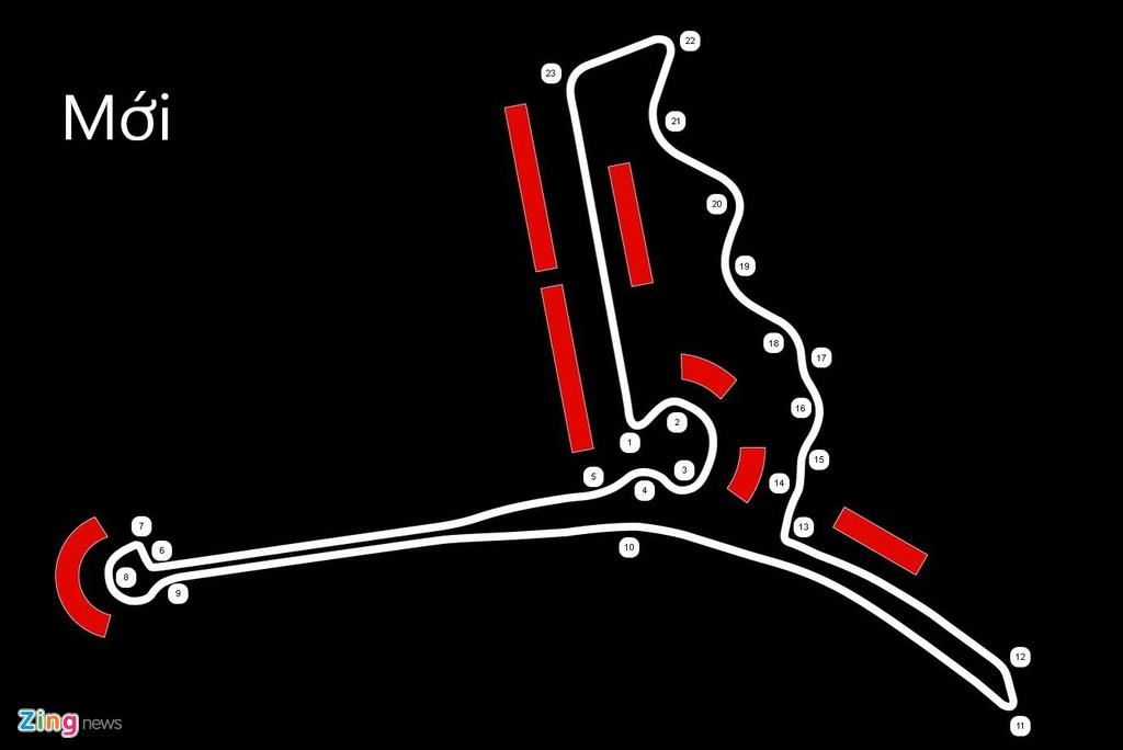 F1 Vietnam,  duong dua,  so do,  so do F1,  F1 VinFast anh 2