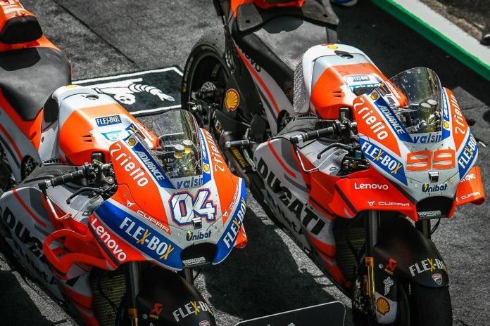 Ducati mo ban phu tung xe dua MotoGP da qua su dung anh 1