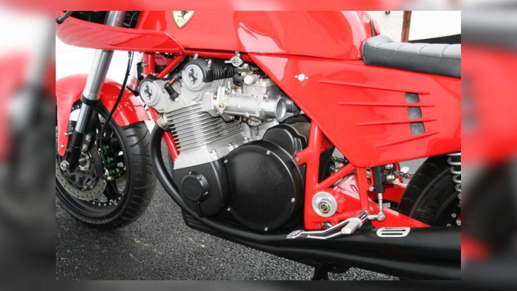 Kham pha chiec moto Ferrari doc nhat the gioi hinh anh 4 4_Ferrari900.jpg