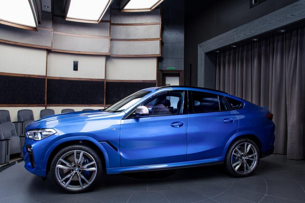 Chi tiet BMW X6 M50i phien ban mau xanh Riverside Blue hinh anh 1 1_X6.jpg