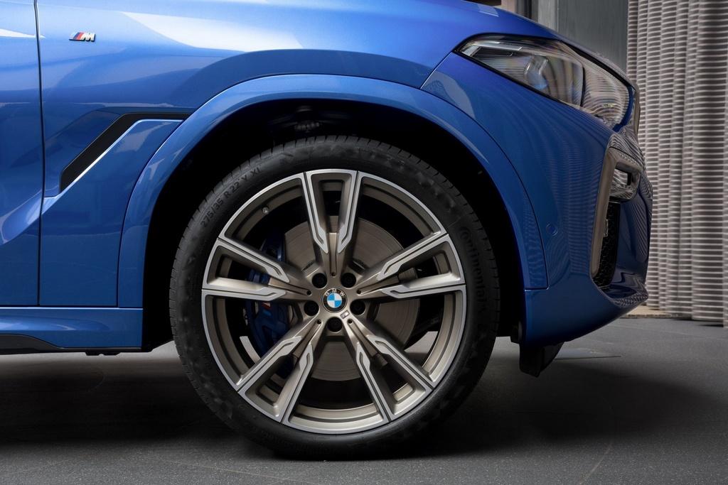 Chi tiet BMW X6 M50i phien ban mau xanh Riverside Blue hinh anh 3 4_X6.jpg
