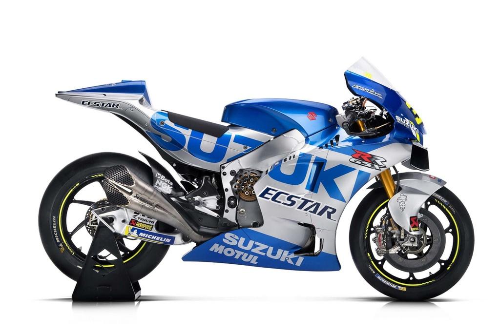 Suzuki trinh lang xe dua MotoGP 2020 - thay doi kieu dang lan mau sac hinh anh 1 team_suzuki_ecstar_2020_livery_gsx_rr_motogp_17.jpg