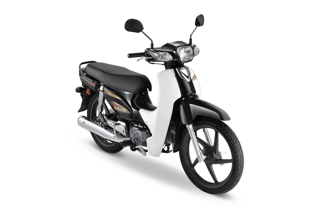 Phiên bản EX5 mới nhất có 2 phiên bản khác nhau bao gồm bánh mâm và bánh căm. Phiên bản sử dụng bánh căm có khối lượng 97 kg, nhẹ hơn phiên bản bánh mâm 2 kg.