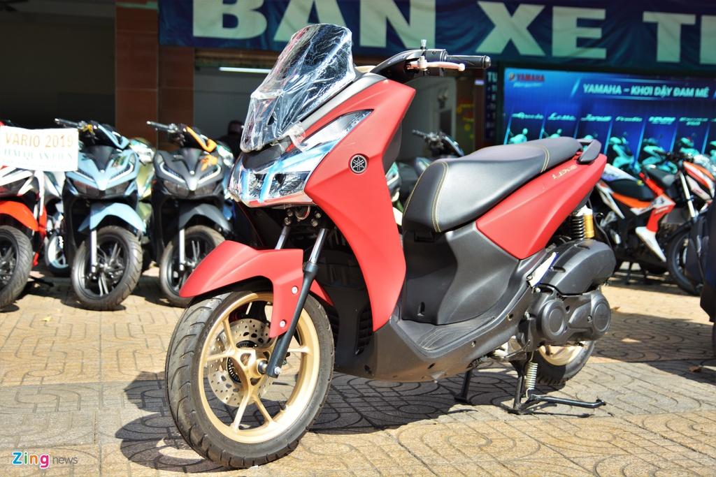 Yamaha LEXi tai Viet Nam - kieu dang la mat, doi thu cua Honda PCX hinh anh 1 1_LEXI_zing.jpg