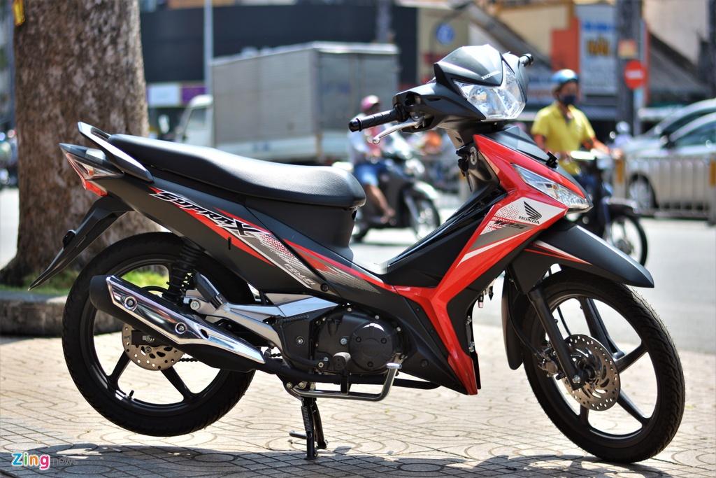 Honda Supra X 125 FI tai Viet Nam, gia khoang 40 trieu dong hinh anh 1 1_SupraX_zing.jpg