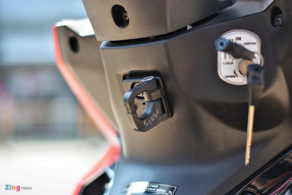Honda Supra X 125 FI tai Viet Nam, gia khoang 40 trieu dong hinh anh 9 9_SupraX_zing.jpg