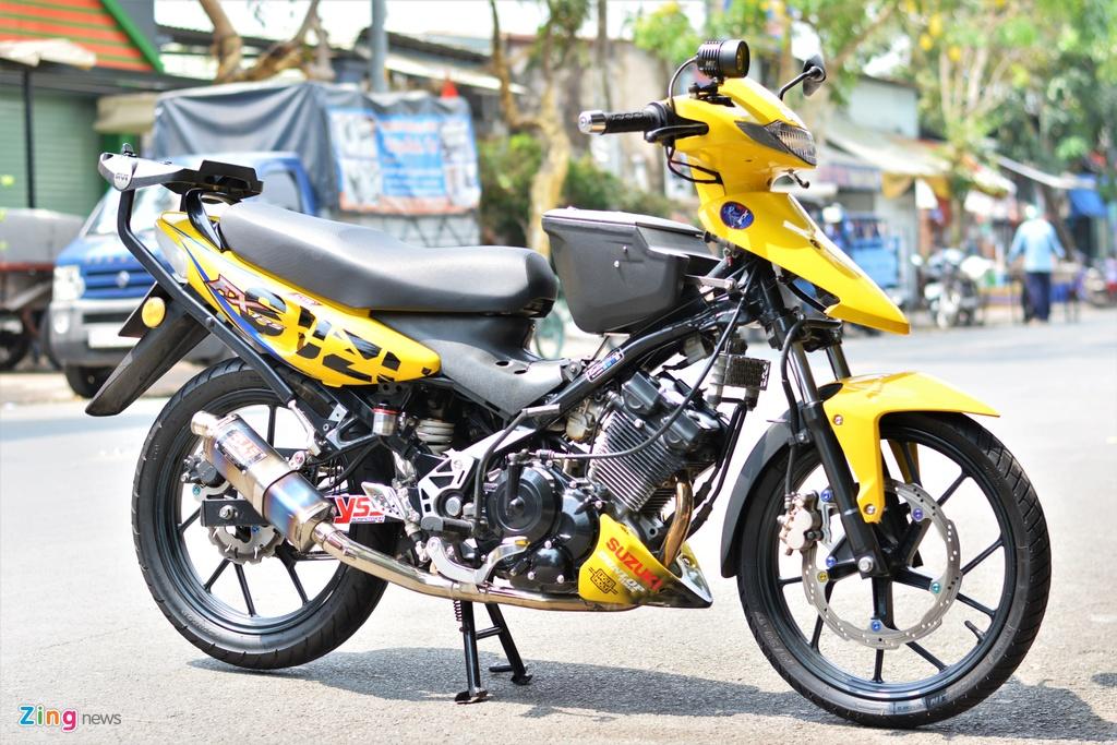 Suzuki FX do cuc chat cua dan choi Sai Gon anh 13