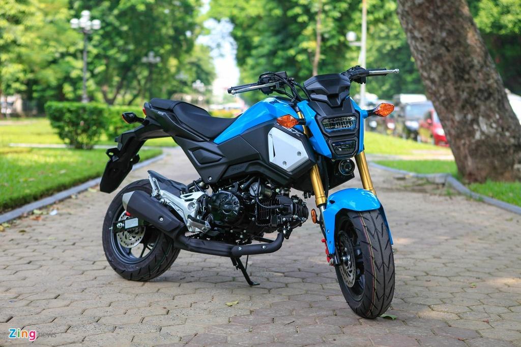 5 lua chon xe may con tay cung tam gia Yamaha Exciter hinh anh 5 10HondaMSX2018_nhunganh_Zing.jpg