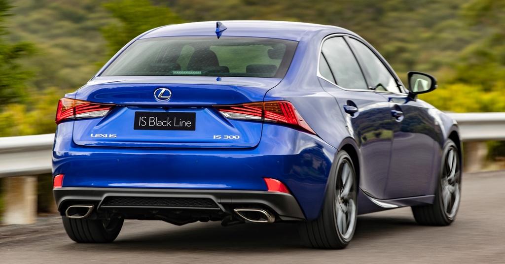 Lexus IS 300 va 350 ra mat phien ban dac biet, gioi han 150 chiec hinh anh 9 9_ISBlackLine.jpg