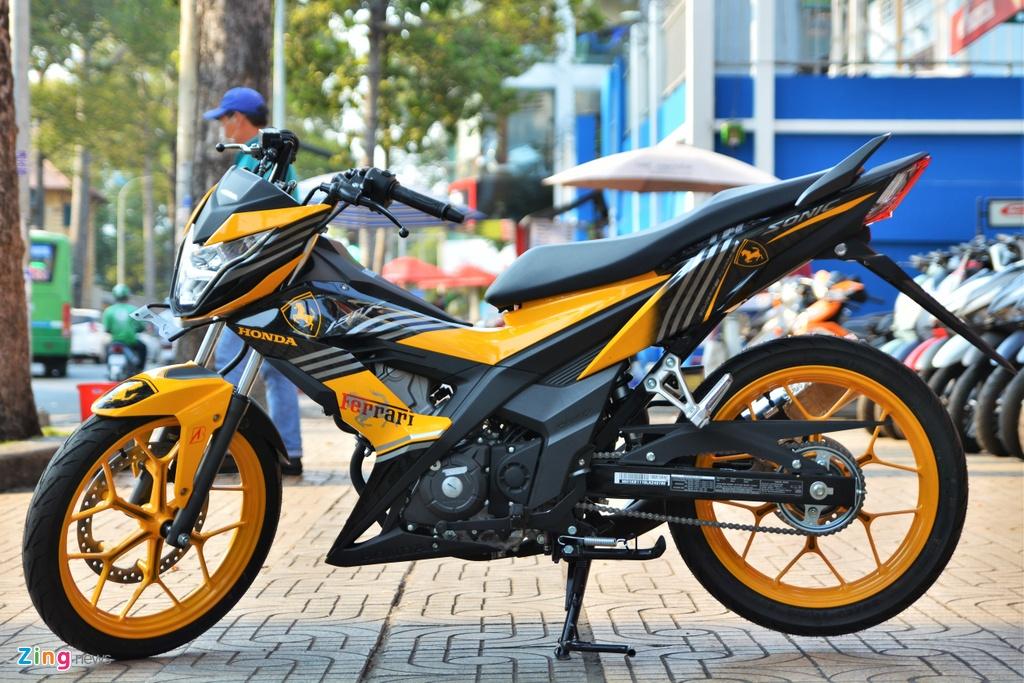 Mua xe con tay 150 cc - chon Suzuki Satria chinh hang hay Honda Sonic? hinh anh 9 11_Sonic_zing.jpg