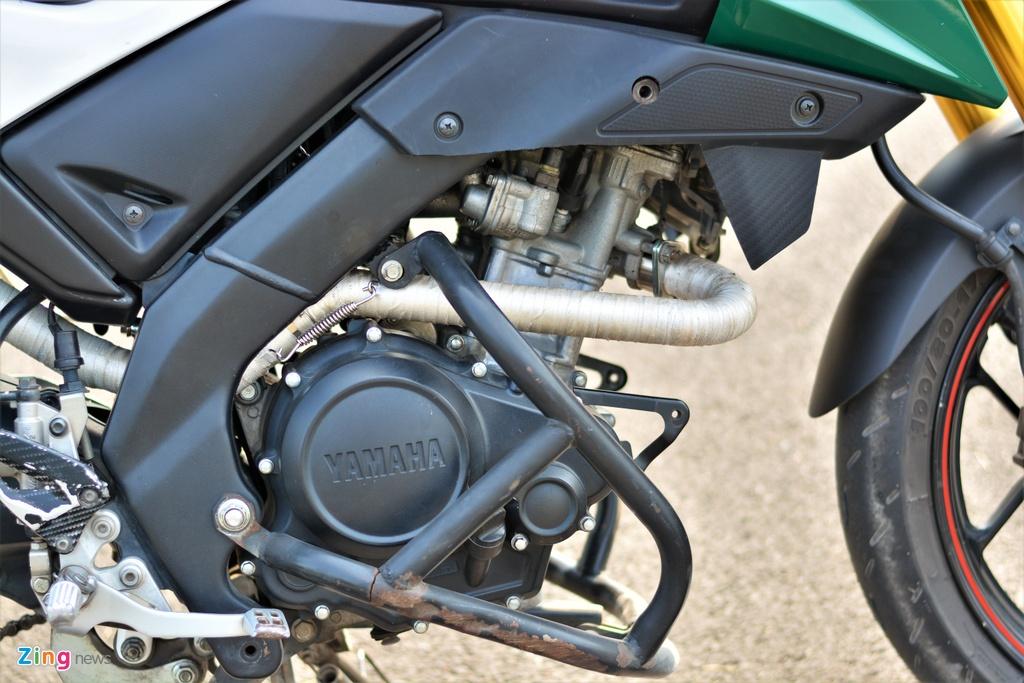 Yamaha TFX bien hoa thanh Ducati Hypermotard doc nhat VN anh 7