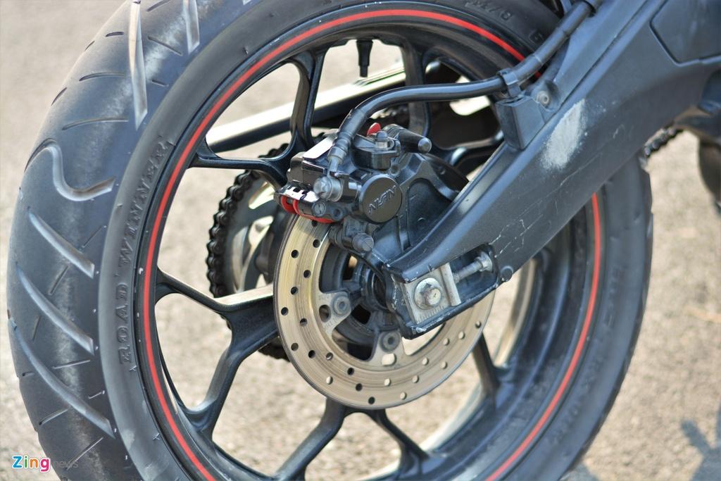 Yamaha TFX bien hoa thanh Ducati Hypermotard doc nhat VN anh 11
