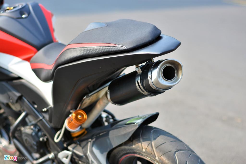 Yamaha TFX bien hoa thanh Ducati Hypermotard doc nhat VN anh 8