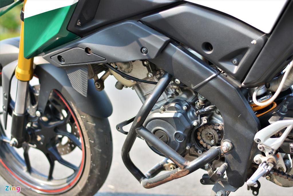 Yamaha TFX bien hoa thanh Ducati Hypermotard doc nhat VN anh 9