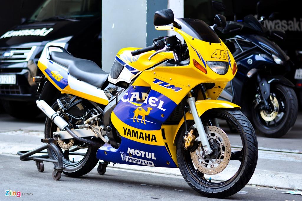 Kham pha Yamaha TMZ 150 anh 1