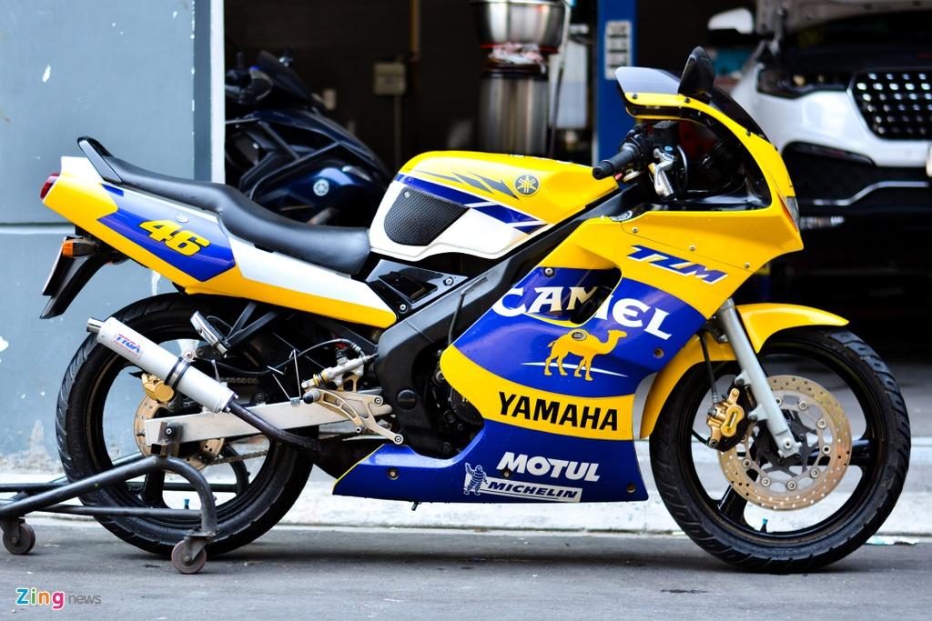 Kham pha Yamaha TMZ 150 anh 2