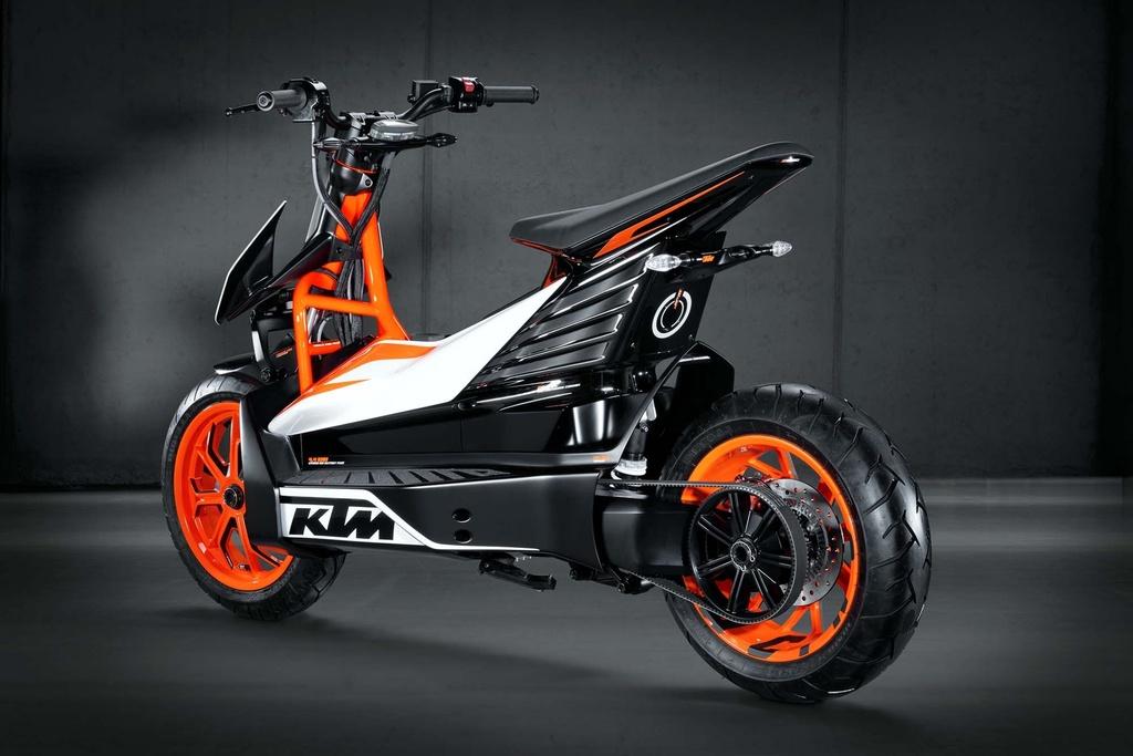 KTM chuan bi san xuat xe ga dien thiet ke la mat hinh anh 4 KTM_E_Speed_electric_scooter_concept_01.jpg