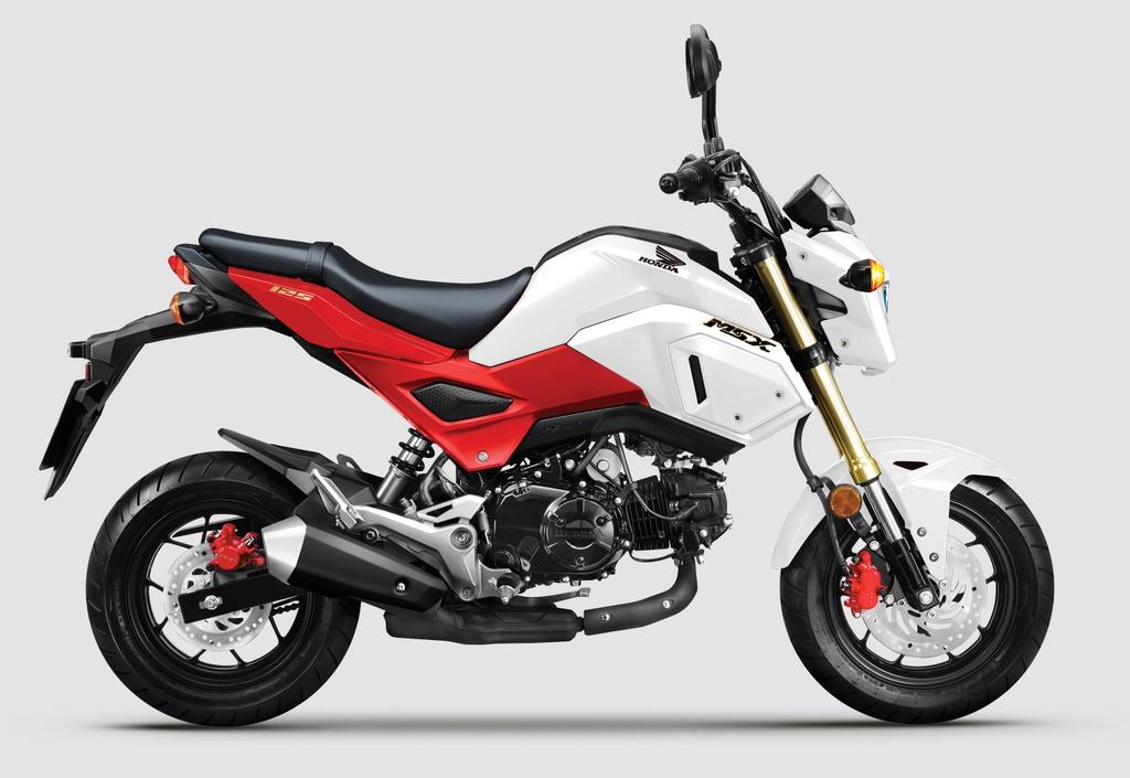Honda MSX moi ra mat VN - them mau sac, giu nguyen gia ban hinh anh 1 bike_WHITE_RED.jpg