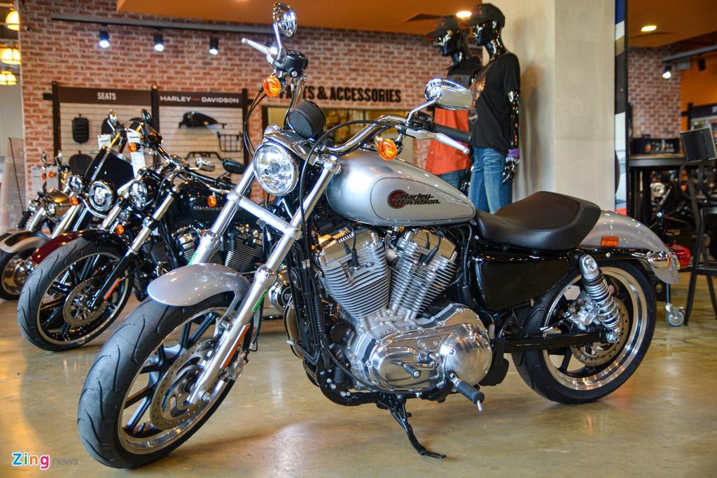 Harley-Davidson SuperLow 2020 xe Harley-Davidson gia re nhat VN anh 1