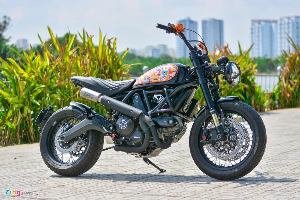Ducati Scrambler lot xac voi goi do 200 trieu cua biker Ha Noi hinh anh 2 15_Scramblerdo_zing.jpg