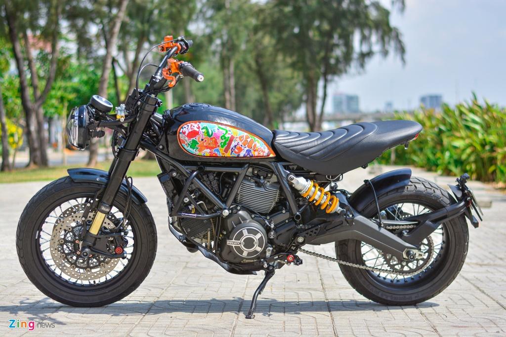 Ducati Scrambler lot xac voi goi do 200 trieu cua biker Ha Noi hinh anh 12 17_Scramblerdo_zing.jpg