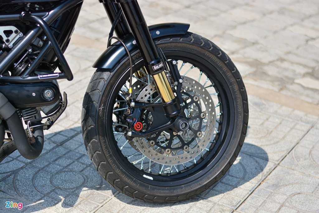 Ducati Scrambler lot xac voi goi do 200 trieu cua biker Ha Noi hinh anh 6 2_Scramblerdo_zing.jpg