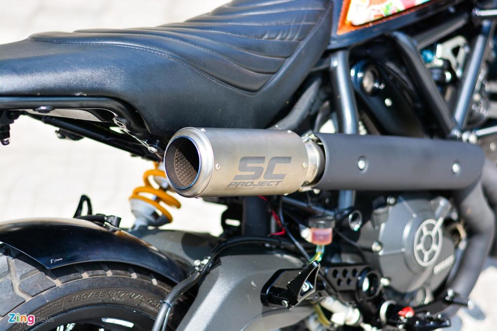 Ducati Scrambler lot xac voi goi do 200 trieu cua biker Ha Noi hinh anh 15 3_Scramblerdo_zing.jpg