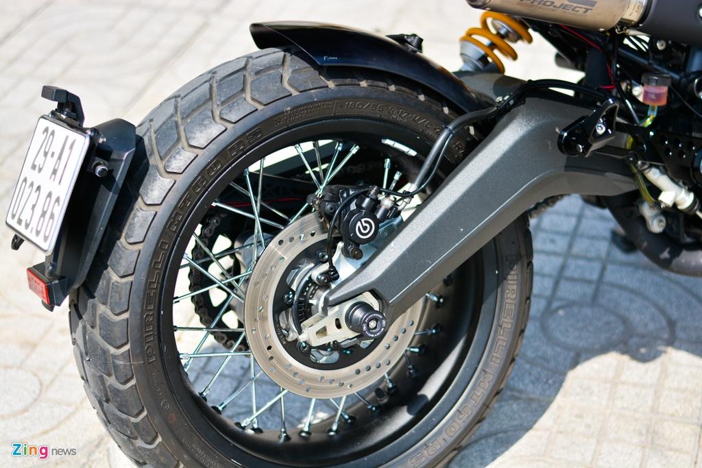 Ducati Scrambler lot xac voi goi do 200 trieu cua biker Ha Noi hinh anh 14 4_Scramblerdo_zing.jpg