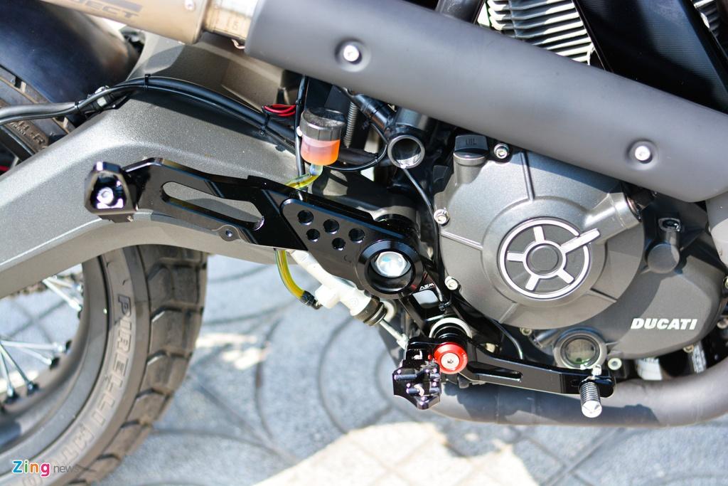 Ducati Scrambler lot xac voi goi do 200 trieu cua biker Ha Noi hinh anh 13 5_Scramblerdo_zing.jpg